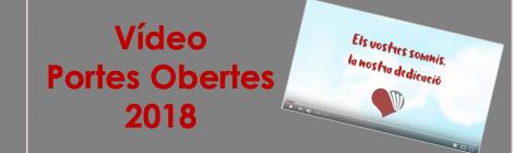 Vídeo Portes Obertes 2018