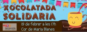 banner xocolatada solidaria
