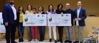 Primer Premi del Quart Concurs Anual d'Objectes fets de material reutilitzat
